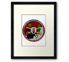 6-4 Cavalry (Operation Enduring Freedom IX) Framed Print