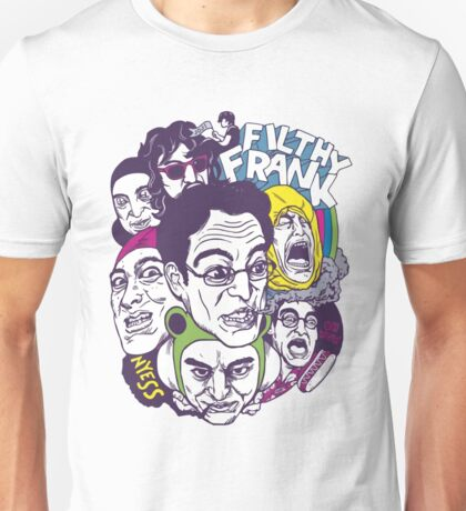 Filthy Frank  & Filthy Crew Unisex T-Shirt