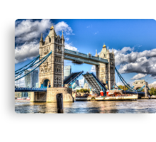 Tower Bridge and the Waverley Canvas Print