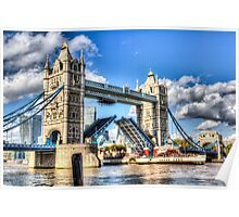 Tower Bridge and the Waverley Poster