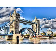 Tower Bridge and the Waverley Photographic Print