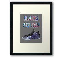 Shoe Game Framed Print