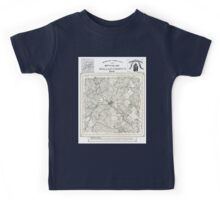 Dallas county - Texas - 1886 Kids Tee