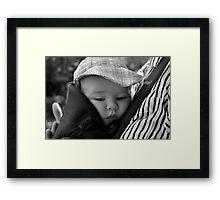 Little Baby Faced Angel Framed Print