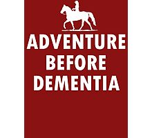 Horse Adventure before dementia new Photographic Print