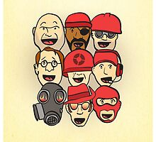 Team Fortress 2 Cast by cbcoombs