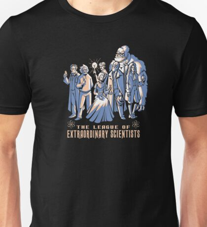The League of extraordinary Scientist Unisex T-Shirt
