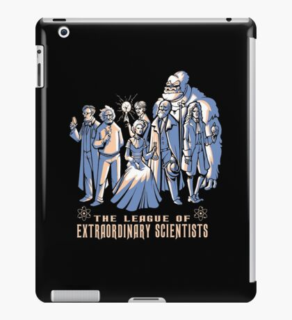 The League of extraordinary Scientist iPad Case/Skin
