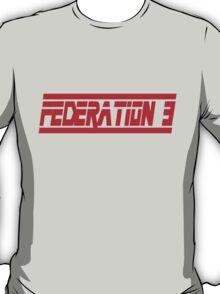 Federation 3 Font T-Shirt