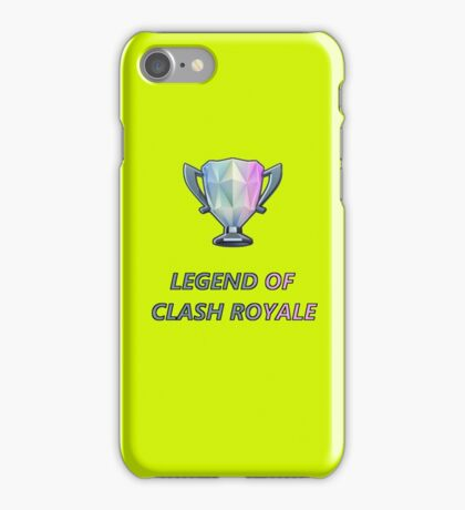 Clash Royale Trophy iPhone Case/Skin