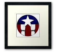 Captain Star Framed Print