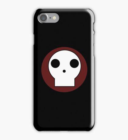 Skull Circle iPhone Case/Skin