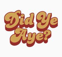 Did Ye Aye? Ride My Pimp Style Logo by tapsoan