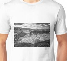 Ballintoy Harbour - The Sea Always Wins Unisex T-Shirt