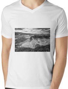 Ballintoy Harbour - The Sea Always Wins Mens V-Neck T-Shirt