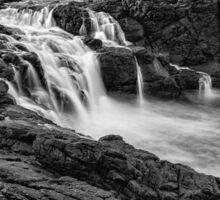 Dunseverick Waterfall Sticker