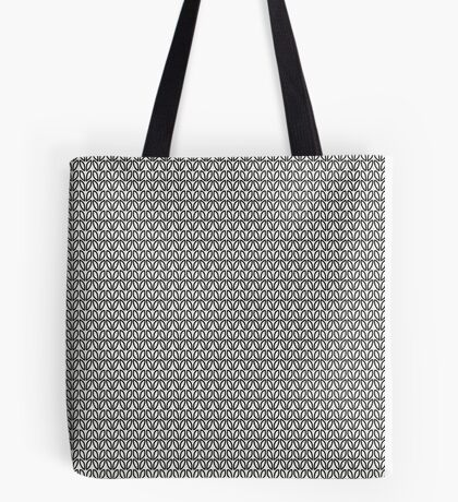 knitting seamless pattern Tote Bag