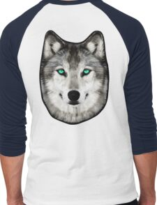 Dan Smith's Wolf hoodie Men's Baseball ¾ T-Shirt