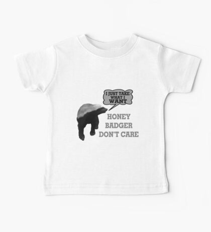 Honey Badger Takes What It Wants Baby Tee