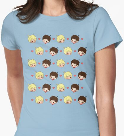 Merthur Pattern Womens Fitted T-Shirt