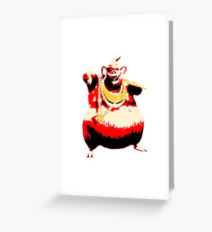 Biggie Cheesey - ONE:Print Greeting Card