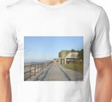 scarborough beach sunrise boardwalk Unisex T-Shirt