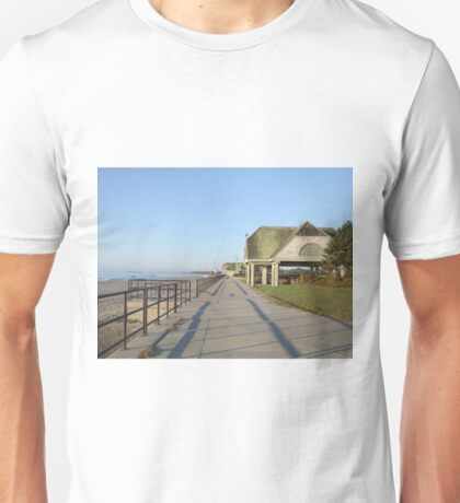 scarborough beach sunrise boardwalk Unisex T-Shirt