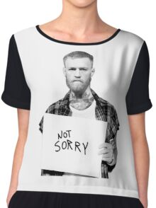 Conor McGregor Limited Edition - Not Sold In Stores Chiffon Top