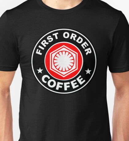 First Order Coffee Red edition Unisex T-Shirt