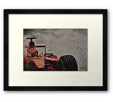 Forza Michael !!! Framed Print
