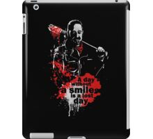 negan - lucille iPad Case/Skin