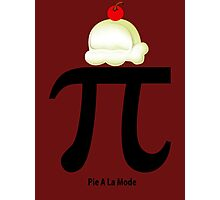 Custom Pi math a la mode new image Photographic Print