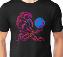 Metroid Chozo - Pink on Black Unisex T-Shirt