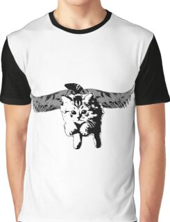 If Kittens Had Wings Graphic T-Shirt