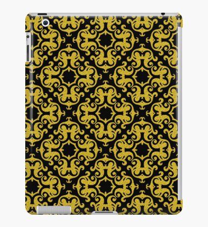 Retro Gold Ornaments Pattern iPad Case/Skin