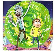 Rick and Morty - Portal  Poster