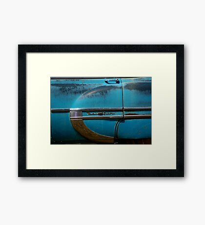 Blue Bel Air Framed Print