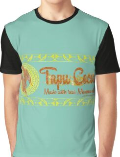 Tapu Cocoa - Distressed Logo Graphic T-Shirt