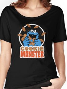 Cookie Monster Women's Relaxed Fit T-Shirt