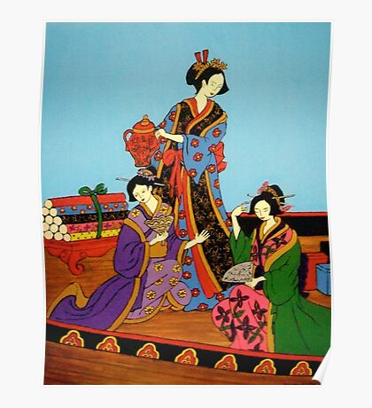 Three Geishas Poster
