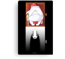 Spirited Away - No Face Canvas Print