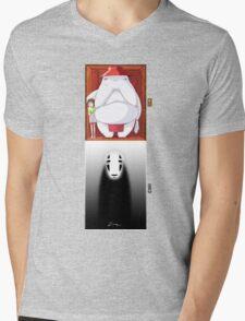 Spirited Away - No Face Mens V-Neck T-Shirt