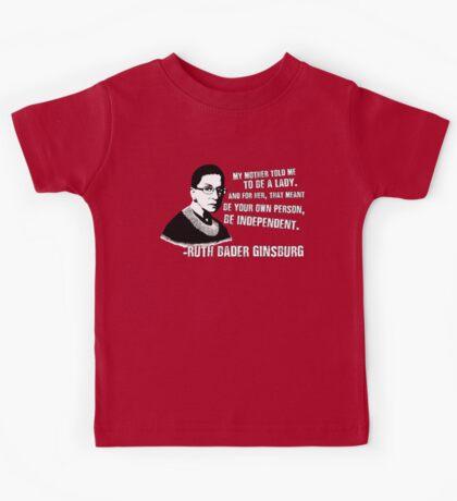 Revolutionary Women: Ruth Bader Ginsburg Kids Tee