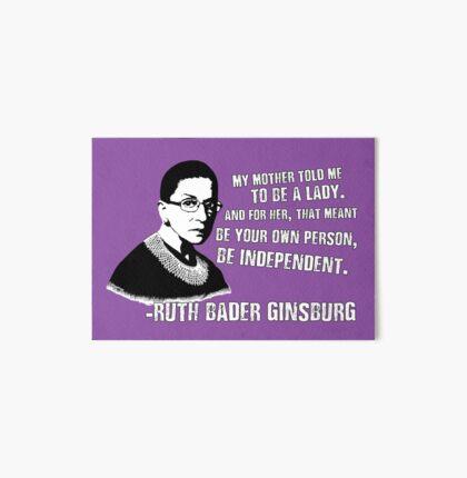 Revolutionary Women: Ruth Bader Ginsburg Art Board