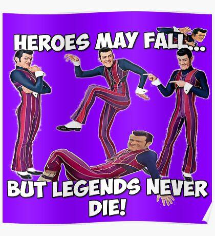 Robbie Rotten - Legends Never Die! Poster