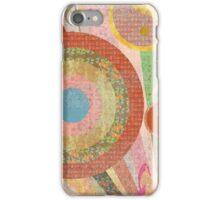 Groovy Distressed Vintage Design iPhone Case/Skin