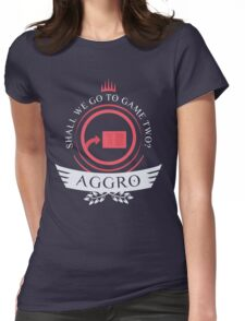 Magic the Gathering - Aggro Life V2 Womens Fitted T-Shirt