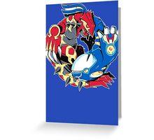 Primal Balance Omega Ruby & Alpha Sapphire T-shirt Greeting Card