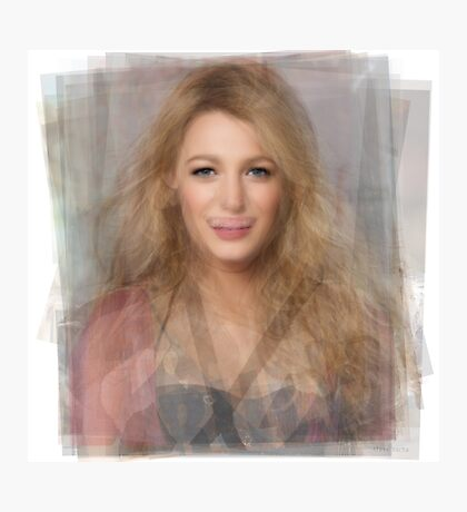 Blake Lively Portrait Photographic Print