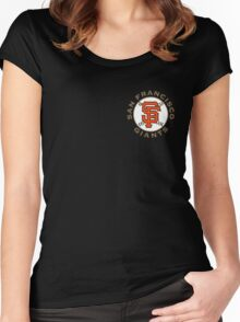 San Francisco Giants Women's Fitted Scoop T-Shirt